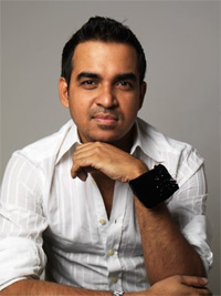 USU Alum and fashion designer Bibhu Mohapatra. Photo courtesy of www.bibhu.com.